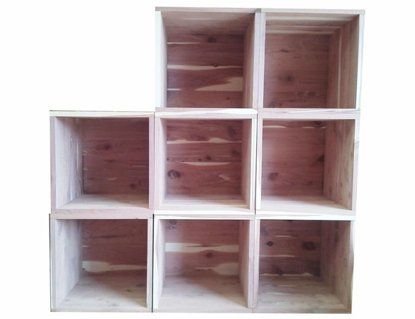 Cedar Closet 9 Piece Sackable Open Box Group - Exclusive Item - Not Currently Available