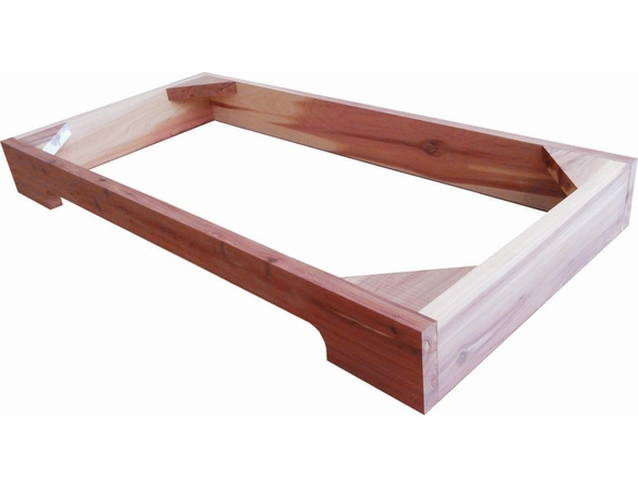 Cedar Closet Contoured Base - Exclusive Item