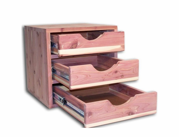 Cedar Closet Organizer:  6 Pc Stackable Closet System - Exclusive Item