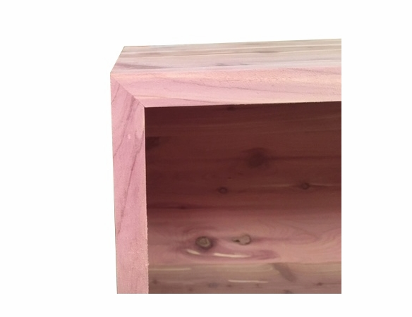 Cedar Closet Organizer Stackable Unit: Large Box - Exclusive Item