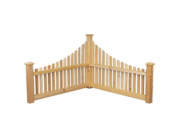 Cedar Corner Graduated Fence - Not Currently Available