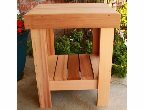 Cedar Country Garden Table - Not Currently Available