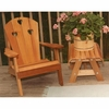 Cedar Country Hearts Adirondack Chair