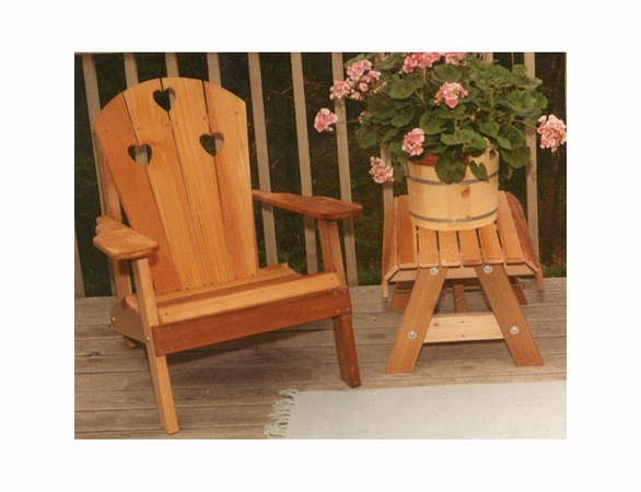 Cedar Country Hearts Adirondack Chair - Extra May Only Discount