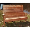 Cedar Country Hearts Garden Bench - Extra May Only Discount