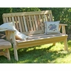 Cedar Countryside Garden Bench - Extra May Only Discount