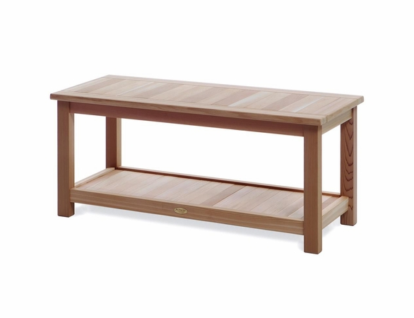 Cedar Deluxe Sauna Bench Kit