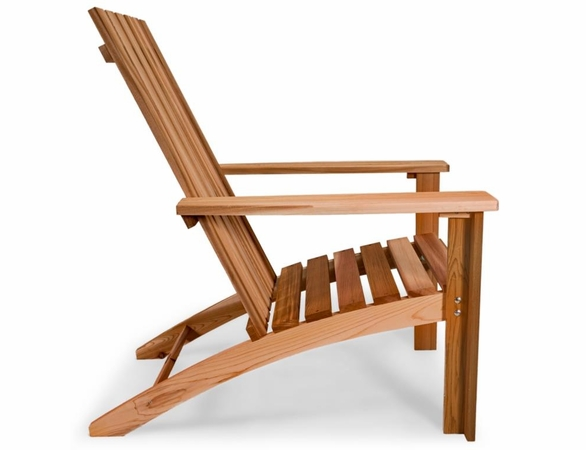 Cedar Easyback Adirondack Chair Kit
