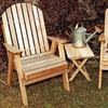 Cedar Fanback Patio Chair