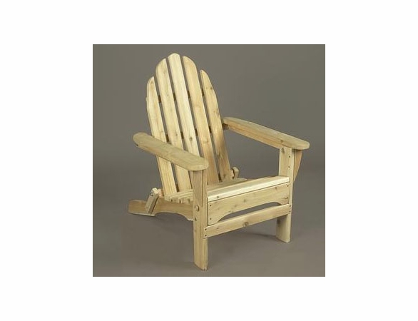 Cedar Folding Adirondack Chair - Not Currently Available