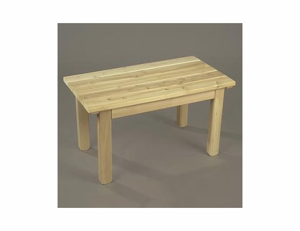 Cedar Garden Coffee Table