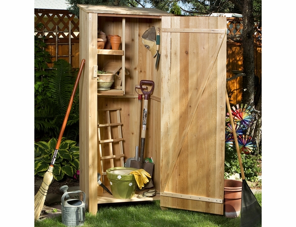 "Cedar Garden Hutch Kit - 27"" Wide"