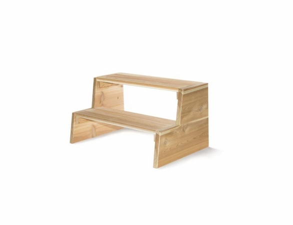 Cedar Hot Tub Step Kit