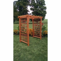Lexington Flat Top Arbor - Multiple Sizes Available