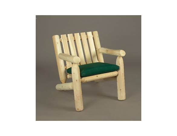 Cedar Log Style Lounge Arm Chair - Not Currently Available