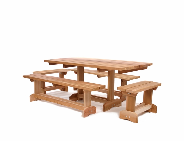 Cedar Market Table Set Kit (seats 8-10)