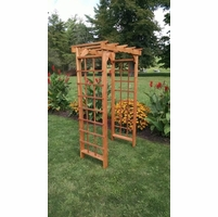 Cedar Morgan Flat Top Arbor - Multiple Sizes Available