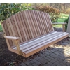 Cedar Mountaintop Fanback Porch Swing - Extra May Only Discount