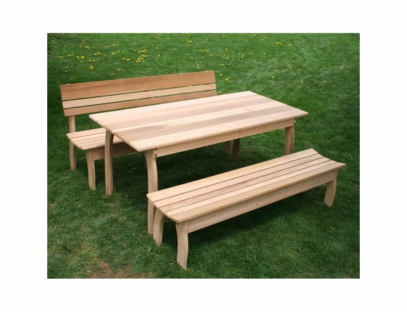 Cedar Odd Couple Dining Set - Extra May Only Discount