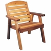 Cedar Patio Club & Deck Chair