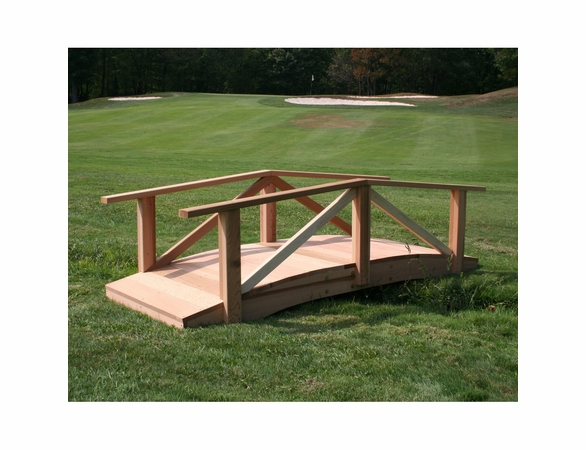 Cedar Pearl River Garden Bridge Kit - Extra May Only Discount