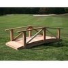 Cedar Pearl River Garden Bridge Kit