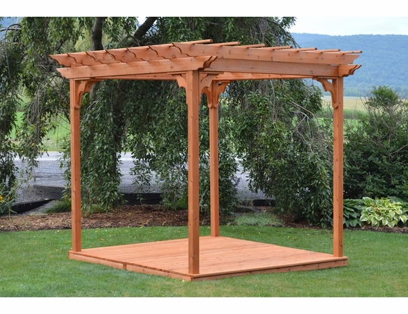 Cedar Pergola w/ Swing Hangers - Currently Unavailable