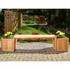 Cedar Planter with Bench Kit (3 & 5 Piece Options)