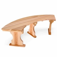 Cedar Quarter Tree Surround Bench Kit