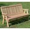 Cedar Savannah English Garden Bench
