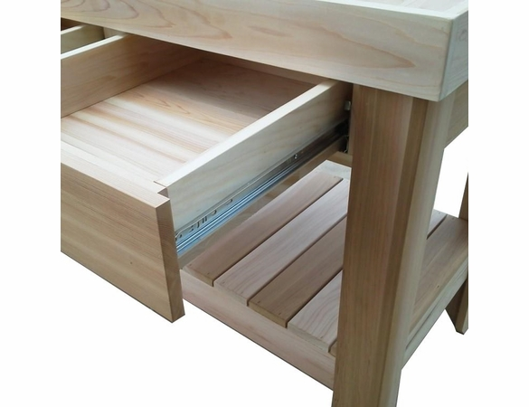 Cedar Simple Organizing Potting Bench - Not Currently Available