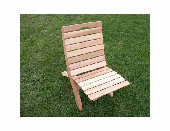 Cedar Traveling Style Folding Chair