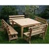 Cedar Union Dining Set - Extra May Only Discount