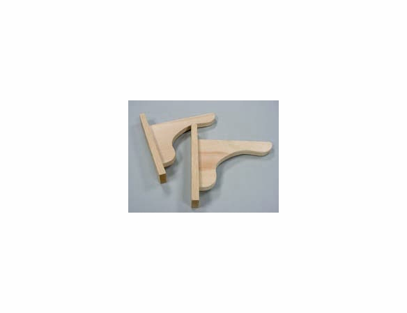 Cedar Window Box Brackets - Pair