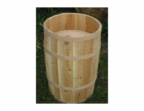 Cedar Wood Hollow Full Size Barrel with False Bottom