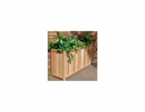 Cedar XL Rectangular Wood Planter - Exclusive Item - Not Currently Available