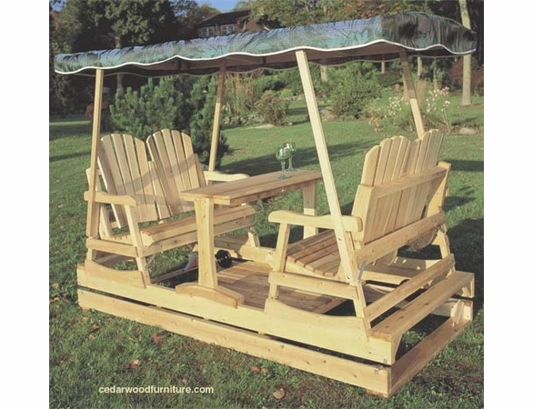 Deluxe Garden Glider, Canopy Only