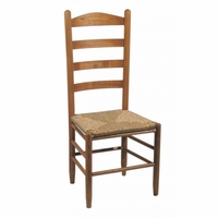 Dining Chair with Simple Ladderback – Color Options