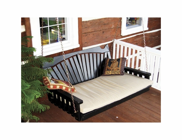 Fan Back Swing Bed 4', 5' or 6'