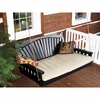 Fan Back Swing Bed 4', 5' or 6'<br>(Available in Cedar or Pine)