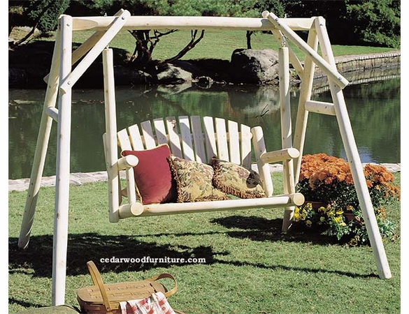 Fanback Garden Swing Sets 4 or 5 Ft. Option