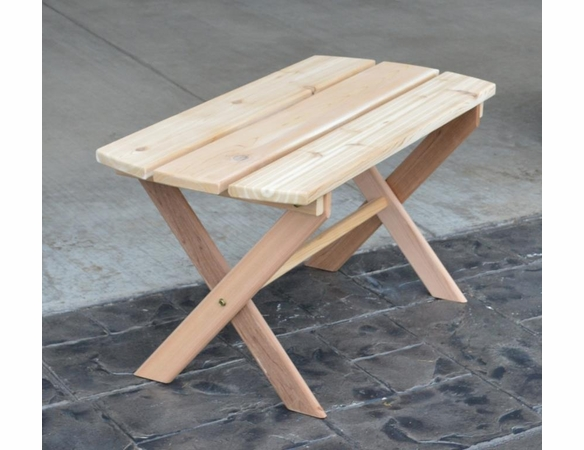 Folding Coffee Table<br>(Available in Cedar or Pine)