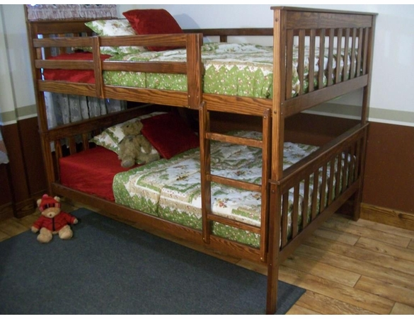 Full Size Mission Bunk Bed Frame