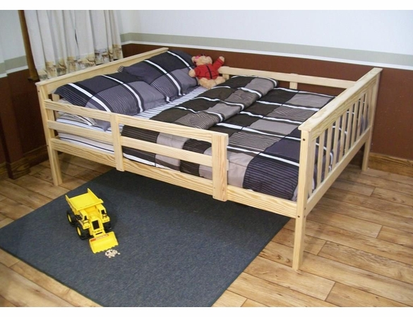 Full Size Mission Bed Frame with Trundle or Drawer Option