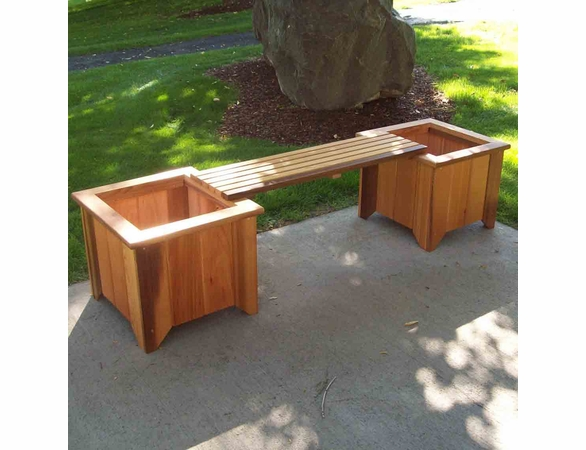 Heritage Planter Bench: 3pc. Set