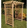 Lexington Flat Top Arbor - Pressure Treated Pine - Multiple Sizes Available