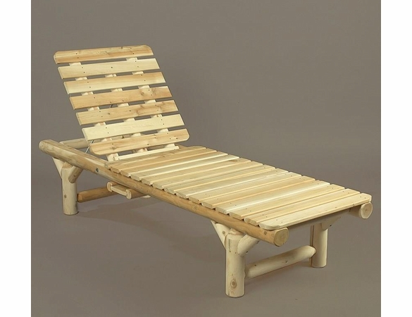 Log Chaise Lounger - Not Currently Available