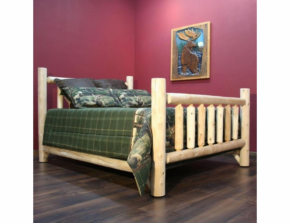 Log Style Bed
