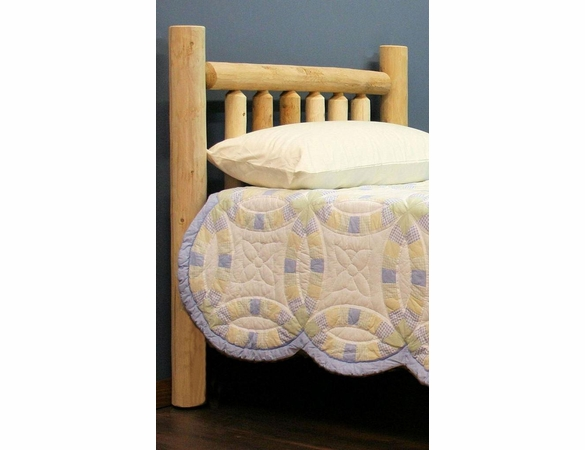 Log Style Bed Headboard Only