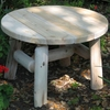 Log Style Coffee Table - Available Middle of June
